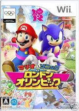 Used Wii Mario Sonic London 2012 Nintendo JAPAN JP OLYMPIC JAPONAIS IMPORT
