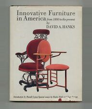 1981 David Hanks INNOVATIVE AMERICAN FURNITURE Wright KNOLL Nelson BERTOIA Eames