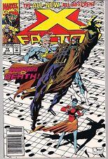 X-MEN X-FACTOR #79 MARVEL 06/92 AUTOGRAPH SIGNED BY COVER ARTIST JOE QUESADA NM-