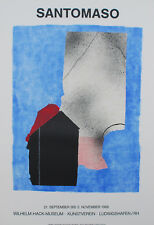 Giuseppe SANTOMASO (1907-1990) Lithographie Lithograph Affiche d'Art Poster
