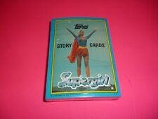 1984 TOPPS SUPERGIRL COMPLETE NON-SPORT CARD SET 1-44 STICKERS.