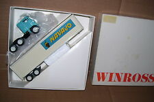 1975 Navajo Metal Dolly  Winross Diecast Trailer Truck