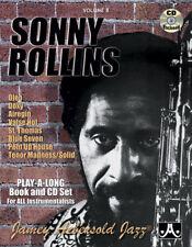 AEBERSOLD VOL. 8 - SONNY ROLLINS - Libro con CD