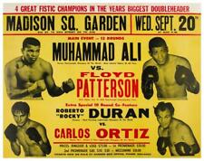 1972 Muhammad Ali vs Floyd Patterson - at MSG in NYC Boxing w/Roberto Duran