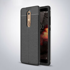 For Nokia 5.1 3.1 2.1 X6 7 8 Shockproof Rubber Slim TPU Leather Back Case Cover