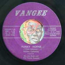 HEAR Big Jay Bush 45 Funky Horns/Soul Meeting VANGEE northern funk breaks