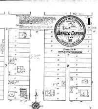 Buffalo Center, Iowa~Sanborn Map© sheets~1915 to 1942