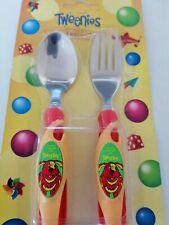 Tweenies Soft Feel Cutlery Spoon and Fork Set Children
