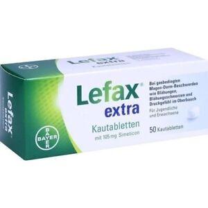 Lefax extra Kautabletten 50 Stück PZN 02563836