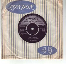 THE RONETTES BABY I LOVE YOU     VERY RARE 45 1963