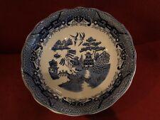 """Large Japanese Blue Porcelain Serving BowlNever Used - 13"""""""