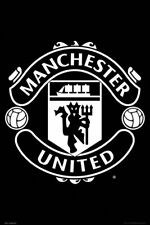 MANCHESTER UNITED - CREST POSTER 24x36 - FC SOCCER FOOTBALL LOGO 34303