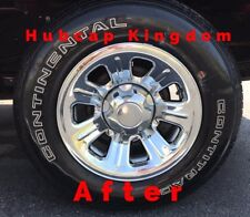 "2000-2011 Ford RANGER 15"" 7-spoke Steel Wheel CHROME Skins Hubcaps Covers SET"