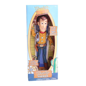 """16"""" DISNEY Figure Toy Story Pull String Talking Woody Exclusive Collection"""