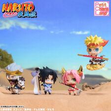 Megahouse Petit Chara Team Seven Naruto Kakashi Sakura Sasuke Saiyuki Figure Set