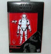 "Hasbro B4056 Star Wars Black Series First Order Stormtrooper 3.75"" Figure Boxed"