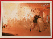 JAMES BOND - Quantum of Solace - Card #078 - The Fire Reaches a Hydrogen Tank