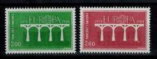 "(b16)  timbres d'Andorre Français n° 329/330 neufs** année 1984 ""europa"""