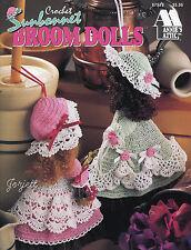 Sunbonnet Broom Dolls, Annie's crochet patterns OOP new