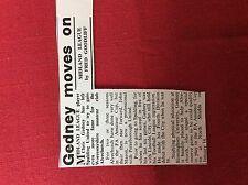 m2u ephemera 1967 football article chris gedney alvechurch spalding united