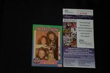 """BARRY GIBB """"THE BEE GEES"""" 1991 STARLINE SIGNED AUTOGRAPHED CARD JSA CERTIFIED"""