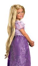 Rapunzel Tangled Child Long Blonde Wig Disney Princess Halloween Disguise