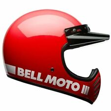 Bell Moto 3 Classic Red Motorcycle Helmet Large 59-60cm BH7081036