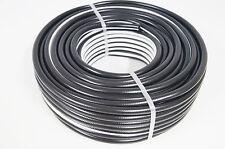 Druckluftschlauch 10 mm x 2,5mm 25m schwarz flexibel Luftschlauch Gewebeschlauch
