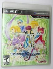TALES OF GRACES Manuale in Inglese PS3 Sony Playstation