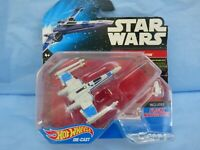 Hot Wheels Star Wars Starships Rebel X-WING FIGHTER Blue Squadron Resistance Toy
