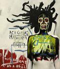 JEAN MICHEL BASQUIAT Self Portrait (60x52cm), CANVAS, POSTER FREE P&P