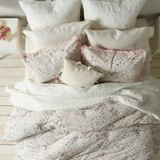 Lauren Conrad Lila Standard Pillow Shams (1) Pair ONLY! Cotton Paisley Floral