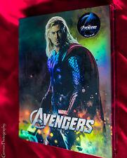 The Avengers 3D+2D Blu-ray Steelbook Novamedia Thor/Hawkeye # 92 Limited Edition