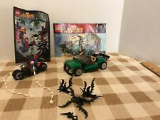 Lego 76004 Spider man Motorcycle Chase +