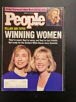 People Magazine: Nov 16 1992 Winning Women Hillary Clinton Tipper Gore
