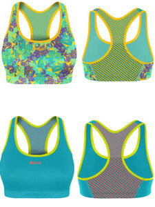 Shock Absorber Sports Bra Active Crop Top S04N0 Non Wired Medium Impact Moulded