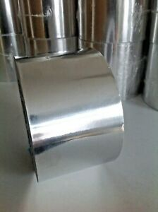 Aluminium Foil Tape 50m Big Roll Silver Self Adhesive Insulation Reflective Duct