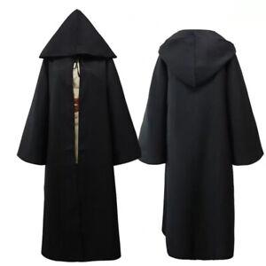Childrens Fancy Dress Cape Kids Hooded Cloak Halloween or Fairytale Dress up