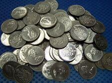 100 CANADIAN Nickel Half-Dollar from 1968-2002 VF++ to AU++ **See description**