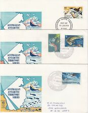 Australian Antarctic Territories. !972 - 1974 First Day Covers, 19 items