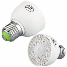 E27 IR PIR Motion Detector Sensor 54 LED Light Bulb Lamp 340LM ED
