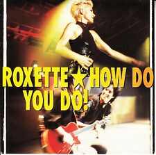 "ROXETTE How Do You Do? & Fading Like A Flower PICTURE SLEEVE 7"" 45 vinyl record"