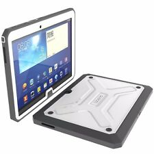 For Samsung Galaxy Tab 4 10.1 Poetic Dual Layer Protection Hybrid Case white NEW