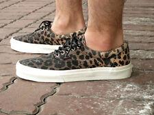 Vans Era CA Ombre Dyed Cheetah Black Men's Skate Shoes Size 10.5