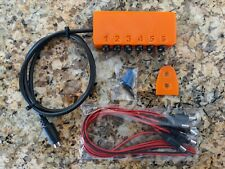 Neptune Apex Breakout Box Dc Jacks w/ 6 cable leads included Hidden Mounting