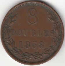 More details for 1858 guernsey 8 doubles | pennies2pounds