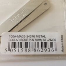 2 Pairs Of Metal Collar Stiffeners Size 5mm