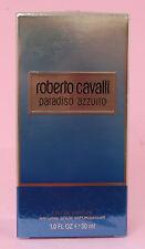 Roberto Cavalli  PARADISO AZZURRO Eau de Parfum Spray 30ml, NEUWARE, OVP
