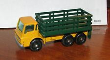 Vintage Lesney Matchbox Superfast 4 Stake Truck Bright Yellow Cab - Rare