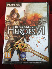 MIGHT & MAGIC HEROES VI jeu PC DVD-ROM ++ 100% NEUF SOUS BLISTER ++ and 6